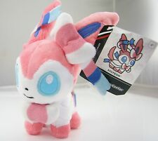 "Cute New Pokemon Center 6"" Sylveon Soft Plush Stuffed Toy Doll Rare"