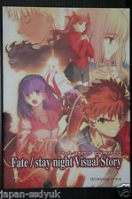 JAPAN Fate stay night Visual Story TYPE‐MOON art book OOP