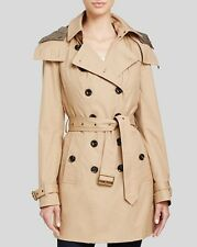 2015  Fall  Burberry Brit Reymoore Trench Jacket Coat size 06 (EU40)   $995 NEW