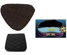 Motorcycle Seat Gel Pads Driver + Back Seats set for Suzuki Boulevard M50 C90 50