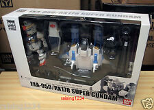 BANDAI SD Mobile Suit Gundam Action Figure (FXA-05D & RX178 Super Gundam)