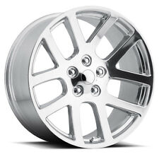 "(4) 24"" 24x10 SRT10 Style Fits 2002 - Up Dodge Ram 1500 Wheels Rims Polished"