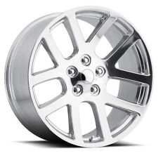 "(4) 24"" 24x10 SRT10 Style Fits 2002 - Up Dodge Ram 1500 Wheels Rims Chrome"