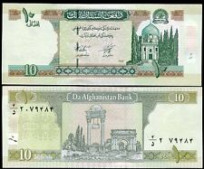 AFGHANISTAN 10 AFGHANIS ND 2004 SH 1383 NEW SIGN UNC # 2