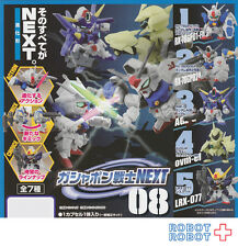SD Gundam Next 08 x7 pcs set Gashapon mini figure Bandai Japan