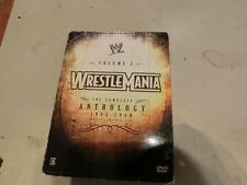 WWE WrestleMania - The Complete Anthology: Vol. 1 (DVD, 2005, 5-Disc Set) 1985