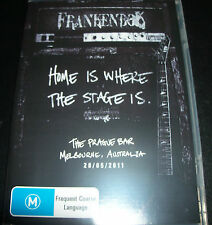 Frankenbok Home Is Where The Stage Is (All Region) Live Prague Bar Melb DVD  New