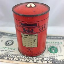 "BRYANT & MAY VR POST BOX EARLY STRIKER TIN  MATCH SAFE VESTA c1885 ""GO TO BED"""