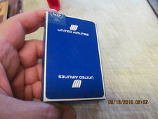Vintage Delta Air Lines Playing Cards Sealed  Box --  BLUE BOX VARIETY