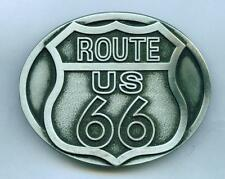 Fibbia Cintura Buckle Route 66 USA US Highway