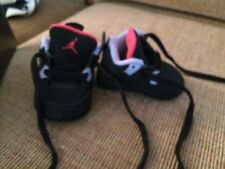 Jordan 4 Retro (GP) (Black/Cement Grey-Fire Red Baby Gift Pack INFANT size 1C