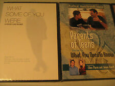 DVD Lot of 4 CHRISTIAN FILMS Family Times, Parents of Teens, etc [Y49e]