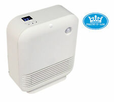 Prem-I-Air White 1.5kW PIR Energy Saving Motion Sensor PTC Ceramic Heat Heater