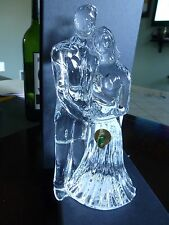 WATERFORD CRYSTAL WEDDING COUPLE SCULPTURE BRIDE AND GROOM BRAND NEW IN BOX!