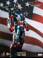 Hot Toys  IRON MAN  3 IRON PATRIOT 1/6th scale diecast figure in USA NRFB