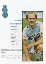 PAUL DYSON COVENTRY CITY 1978-1983 ORIGINAL HAND SIGNED PICTURE CUTTING