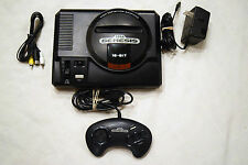 Sega Genesis HIGH DEFINITION GRAPHICS Console Video Game System Complete Tested