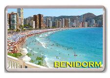 BENIDORM ESPAÑA FRIDGE MAGNET SOUVENIR IMAN NEVERA