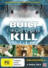 BUILT FOR THE KILL COLLECTION 2 - NEW SEALED REGION 4 DVD - 4 DISCS - FREE POST