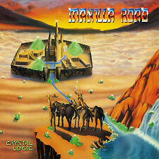 CD Manilla Road Crystal Logic  Deluxe Edition   2CDs
