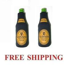 Guinness Extra Stout 2 Beer Bottle Cooler Coozie Coolie Koozie Hugie New