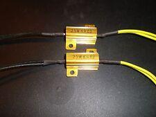 ►2X Universal Widerstände LED MINIBLINKER Leistungswiderstand,Vorwiderstand 25W