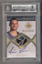 Kevin Love 08/09 Exquisite GOLD Auto Patch RC Rookie #61 Serial #25/42 BGS 9/10