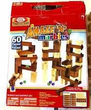 Ideal Timeless Toys Amaze 'N' Marbles Ages 5+ 60 Piece Set One Piece Missing