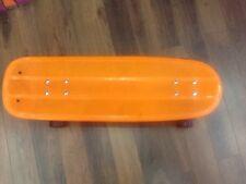 VINTAGE PIG STYLE PLASTIC SKATEBOARD / BON ETAT / RARE