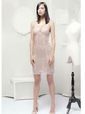 Jean Paul Gaultier for La Perla Nude 42it(M-L) Leather Mistress dress corsett