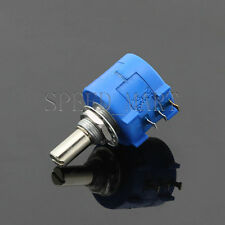 500 Ohm 3590S-2-501L Rotary Wirewound Precision Potentiometer Pot Multiturn
