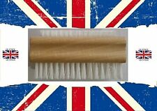 X2!! WOODEN NAIL SCRUBBING BRUSH MANICURE PEDICURE CLEANING DOUBLE SIDED Classic