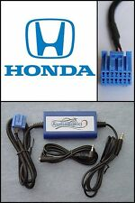 Digital iPod/iPhone/5/Aux/3.5mm Audio In Adapter select Honda Factory Radios