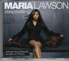 (CK879) Maria Lawson, Sleep Walking - 2006 CD