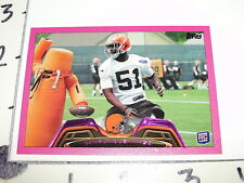 2013 TOPPS Barkevious MINGO #282 Pink BCA RC/399 Cleveland BROWNS - LSU Tigers