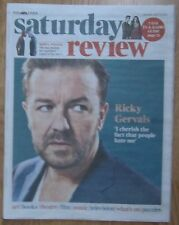 Ricky Gervais – Times Saturday Review – 19 April 2014