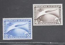 GERMANY STAMPS #C38-C39— ZEPPELIN, SO AMERICA SET  -- 1930  -- UNUSED