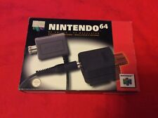 NINTENDO 64 - N64 RF SWITCH / RF MODULATOR Adattatore modulatore - COME NUOVO