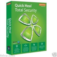 QUICK HEAL TOTAL SECURITY ANTIVIRUS 1 PC (1USER) 3 YEAR + (PRODUCT KEY+COPY CD)