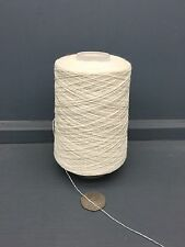 200G RAW WHITE 50% WOOL 30% SILK 20% CASHMERE YARN 2/30NM ECRU