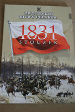Winning the battles in the history of Poland Tom 39 Stoczek - 1831 Polish Book