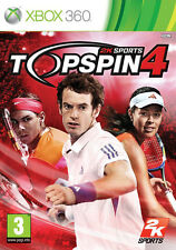 Top Spin 4 XBox 360 *in Excellent Condition*