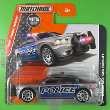Matchbox 2016 - Dodge Charger Pursuit Police - Heroic Rescue -   86 - neu in OVP