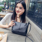 Women Leather Tote Shoulder Crossbody Lady Handbag Satchel Messenger Bag Purse