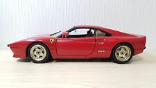 1:18 Hot Wheels 1984 Ferrari 288 GTO Rosso Corsa Red diecast car model