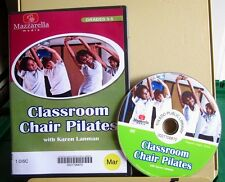 CLASSROOM CHAIR PILATES Karen Lanman exercise DVD children's fitness 2011