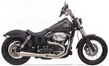 Bassani Road Rage3 III Exhaust 2 to 1 91-16 Dyna FXD FXDB Low Rider S Harley