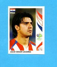 PANINI-GERMANY 2006-Figurina n.115- CACERES - PARAGUAY -NEW BLACK