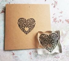 Rubber Stamp HEART WEDDINGS GIFT TAGS SPECIAL OCCASIONS CRAFT