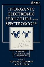 Inorganic Electronic Structure and Spectroscopy Vol. 2 : Applications and...
